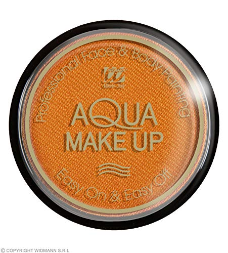 Widmann Aqua Makeup 15G - Metallic Orange
