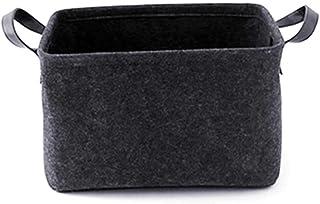 SJYDQ Nordic Panier à linge portable en tissu pour jouets, vêtements, articles divers, boîte de rangement (couleur : B, ta...