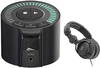 iZotope Spire Studio Wireless Recorder with Polsen HPC-A30-MK2 Studio Monitor Headphones Bundle