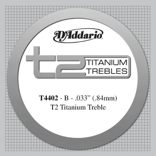 D'Addario T4402 - Cuerda para guitarra clásica de titanio,