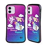 Head Case Designs Officially Licensed My Little Pony Sparkle Rainbow Vibes Hybrid Case Compatible with Apple iPhone 11