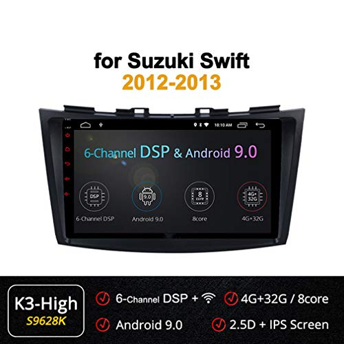 Affordable XBRMMM 9 Inch Android Car DVD Player for Suzuki Swift 2012-2013 GPS Navigation System, Eq...
