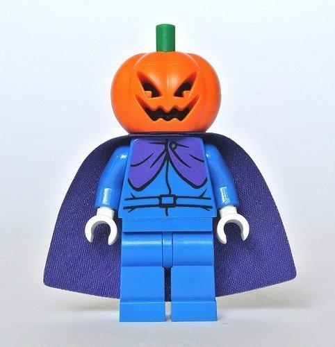 LEGO Scooby-Doo Cartoon Halloween Minifigure - Headless Horseman Pumpkin Head (75901) by LEGO