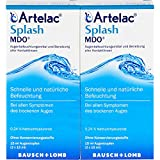 Artelac Splash Augentropfen MDO, 2x15 ml Solución