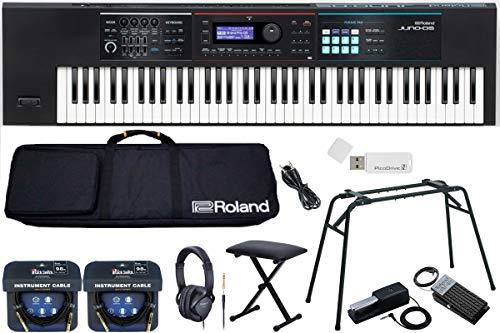 ◆自宅で練習応援◆ Roland/JUNO-DS76【 キーボードベンチ付きコンプリートセット】シンセサイザー (JUNO-DS)
