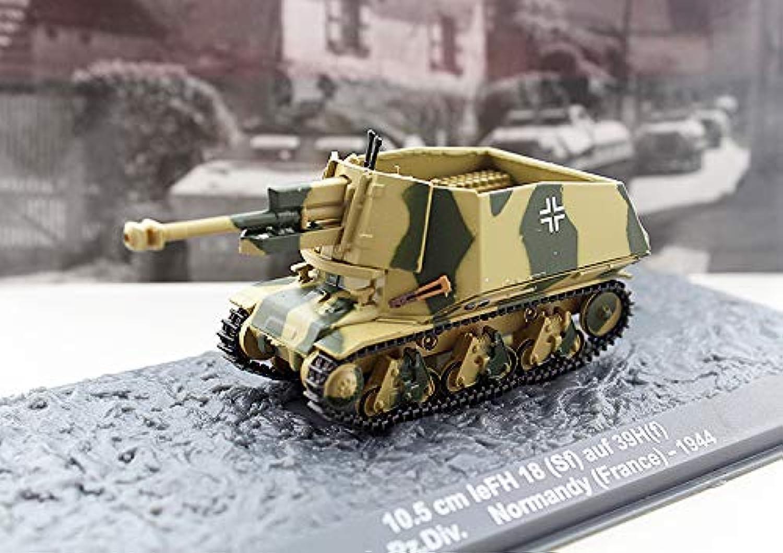 10.5cm leFH 18(SF) auf 39H(f) 21.Pz.Div. Normandy France 1944 1 72 Howitzer