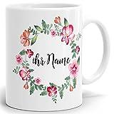 Drucksaal Namenstasse-Tasse-Becher-Kaffeetasse-mit Name-Namen individuell und persönlich Motiv...