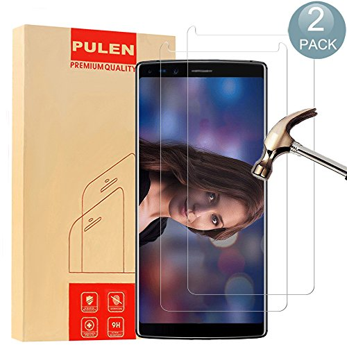 [2 Pack] PULEN Screen Protector for Doogee Mix 2,HD 0.3MM Slim and 9H Hardness 10.8' Tempered Glass[Anti-Scratch] [Bubble Free] Extreme Hardness with Lifetime Replacement Warranty