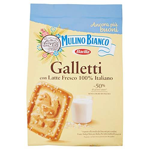 Mulino Bianco Biscotti Frollini Galletti, Colazione Ricca di Gusto, 800g