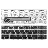 Replacement Keyboard for HP Probook 4535S 4530S 4730S Silver Frame Black