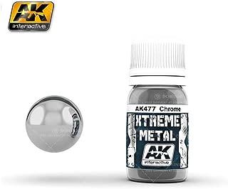 AK Interactive - 30ml Extreme Metal Paints - Chrome by AK Interactive
