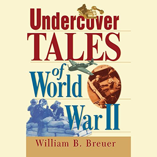 Undercover Tales of World War II audiobook cover art