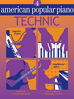 American Popular Piano: Level Four - Technic