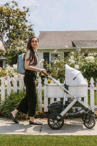 UPPAbaby Bassinet Rain Shield UPPAbaby Side vents ensure maximum ventilation and comfort, Phthalate-free PVC Easy to attach, remove, and clean Convenient handle opening for easy transport 3