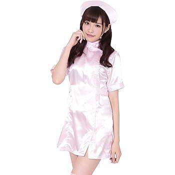 ナース服 セット コスチューム ピンク 87~95cm