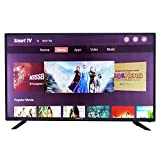eAirtec 81 cm (32 Inches) HD Ready Smart LED TV 32 SM VC (Black) (2020 Model) | with Voice Command...