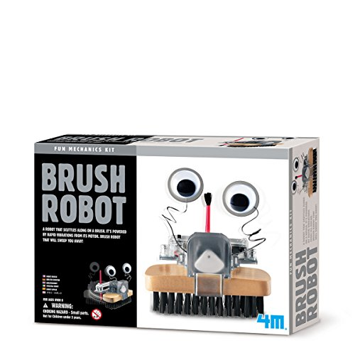 Robot-brosse à assembler soi-même