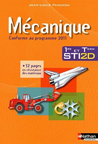 Mécanique - 1re et Tle STI2D