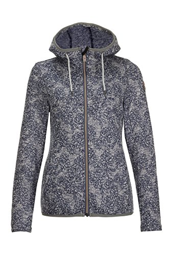 Killtec Dinala fleecejack dames, jeansblauw, FR: XL (maat fabrikant: 44)