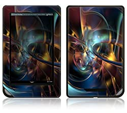 Barnes  Noble Nook Color Decal Skin  Abstract Space Art