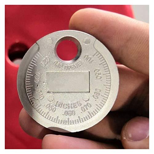 LYJUN 1pc Spark Un Gap Gauge Strumento di Misura della Moneta-Type 0.6-2.4mm Gamma Spark A Gage Lgnition Sistema (Color : 1 pc)