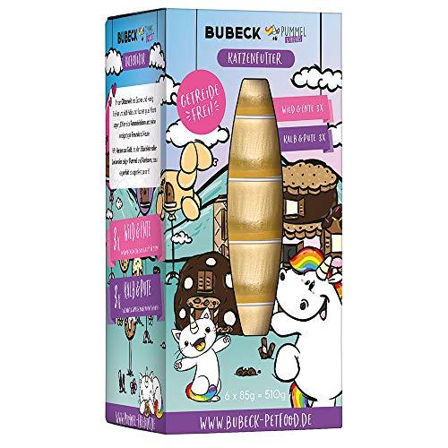 Bubeck | Katzendose Multipack | natürlich getreidefrei | Made with Love Getreidefrei
