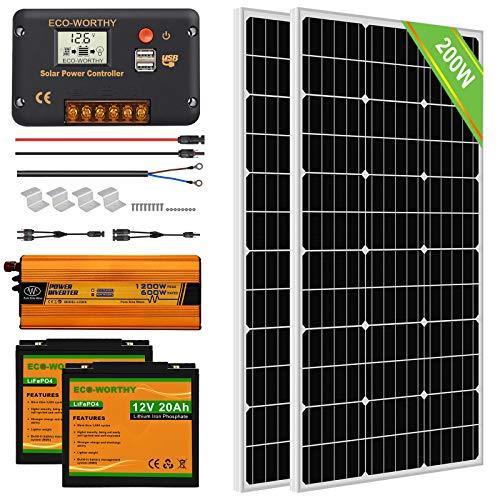 solar power kits for rv - 1