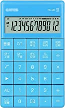 $29 » LYUN Calculator Calculator 12 Digit Tablet Buttons Calculator Portable Multifunctional Business Office Home Gift Calculato...