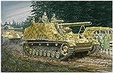 Dragon Models Modelo de vehículo de Guerra de plástico para Montar Hummel Early/Late...