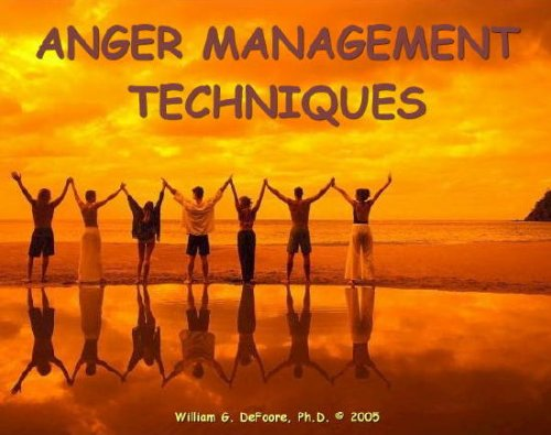 Anger Management Techniques  By  cover art