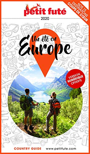 Couverture du livre UN ÉTÉ EN EUROPE 2020 Petit Futé