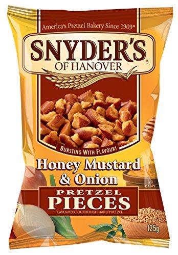 Snyder's Of Hanover Pretzel Pieces 125g (Pack of 10) - Honey Mustard...