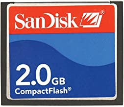 Sandisk 2GB Compactflash Card Type I (SDCFB-2048-A10, Retail Package)