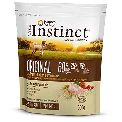 True Instinct - Pienso para Perros Adultos Original Mini Pollo
