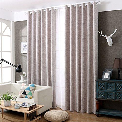 Rideaux Met Love Chenille Simple Moderne Landing Jacquard Chambre Salon Bureau 2 Panneaux (Taille : 3.5 * 2.7m)