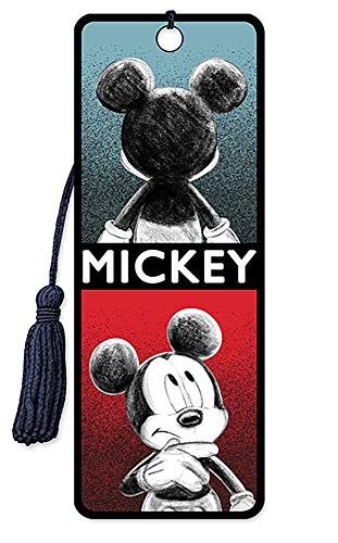 Disney 3D Bookmarks - by Artgame (Mickey Mouse - Sketch)