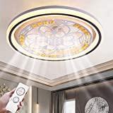 Elektrischer Ventilator Kronleuchter LED mit Fernbedienung