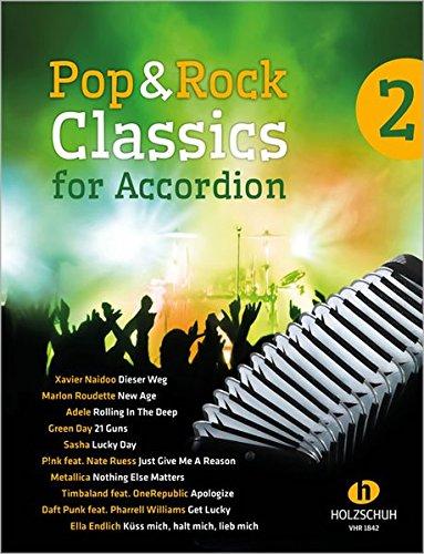 Pop & Rock Classics for Accordion 2
