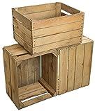 non traitée et bürstenrein Boîtes sont norme contrôlée selon et emballé de couleur assortie. En option (claire ou foncée) svp konktieren. Dimensions: ( HxLxP ) env. 31,5 cm x 50,5 cm x 40 cm Optimal pour Construction d'étagère construction de meubles...