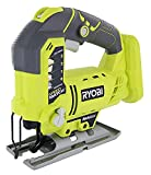 Product Image of the Ryobi One+ P523 18V Lithium Ion Cordless Orbital T Shank 3,000 SPM Jigsaw (Battery Not Included, Power Tool and T Shank Wood Cutting Blade Only)