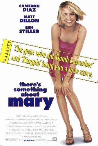 There's Something About Mary Movie Poster (27 x 40 Inches - 69cm x 102cm) (1998) -(Ben Stiller)(Matt Dillon)(Cameron Diaz)(Chris Elliott)(Lee Evans)(Lin Shaye)