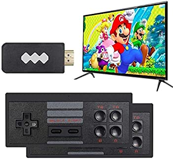 Jackky Retro Game Console,Wireless Controller,AV Output NES Game Console,Built in 620 Classic Games,Mini Portable Host Plug and Play Home Video Game Console for TV,for Kids and Adult