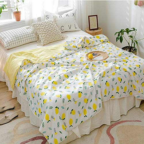 Deken deken dekbed beddengoed beddengoed bed kinderen woonkamer stoel kamer airconditioning TV bank slaapkamer kantoor oranje bedrukking