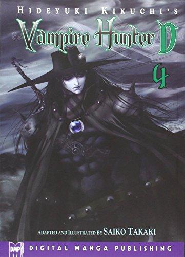 Hideyuki Kikuchis Vampire Hunter D Manga Volume 4