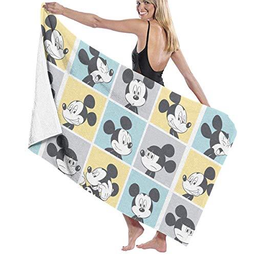 Olie Cam Mickey Mouse Pop Fast Dry Altamente assorbente Uso Multiuso Asciugamani da bagno Asciugamani da spiaggia Asciugamani da Piscina per Donna Uomo