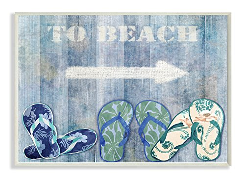 Stupell Home Décor To Beach With Sandals...