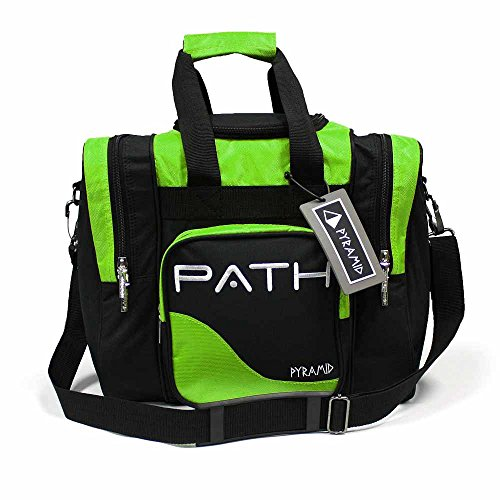 Pyramid Path Pro Deluxe Single Tote - Black/Lime Green