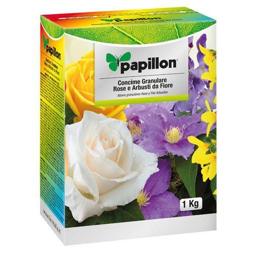 Abono Grano Papillon Rosas Y Flores 1 Kg: Amazon.es: Jardín