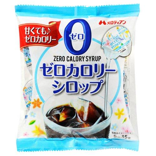 メロディアン ゼロカロリーシロップ 15p