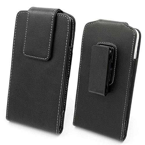 Mopaclle Leder Handytasche Ledertasche Gürteltasche mit Gürtelclip für iPhone 6S Plus iPhone 7 Plus Samsung Galaxy Note 5 BlackBerry 8300 HTC One Max Sony Xperia Z3 Z5